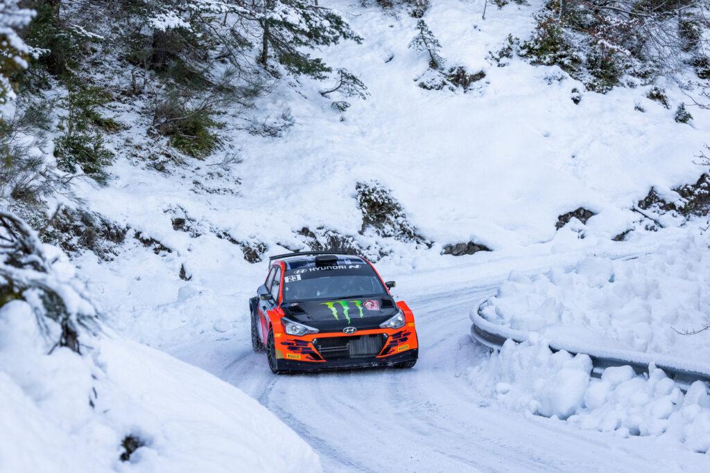 Oliver Solberg kjører Rallye Monte Carlo