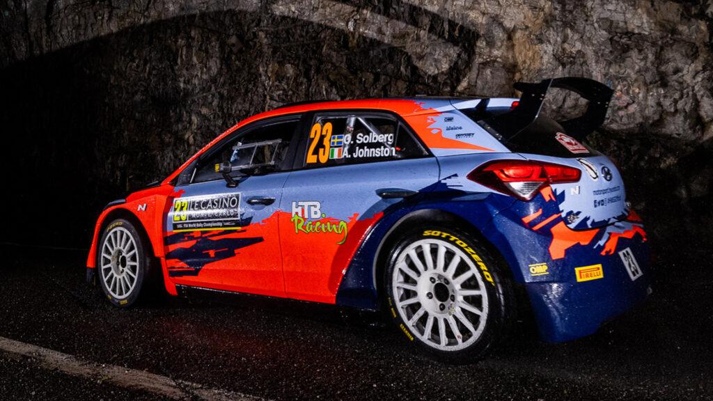 Htb Racing sponser Oliver Solberg