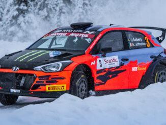 Oliver Solberg sin nye Hyundai i20 R5